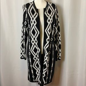 Chico's Sweaters - Chico's Duster Zipped Cardigan
